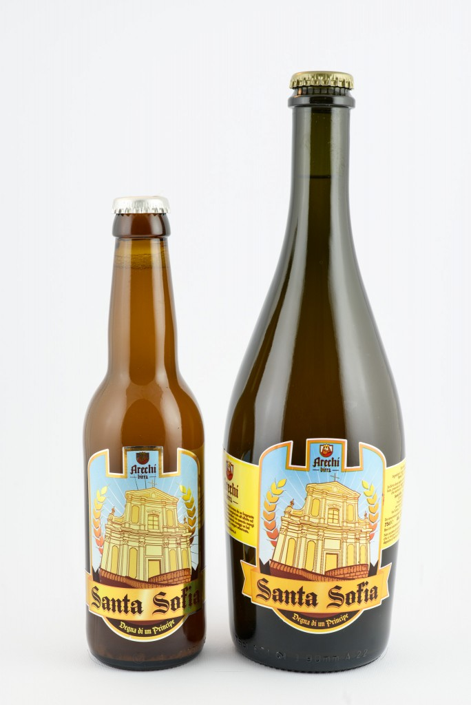 La regina delle birre doppio malto, la santa Sofia