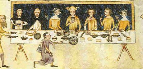 cucina-medievale-banchetto