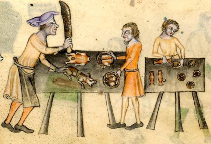 Cucina medievale – cibi, ricette e abitudini di un millennio fa