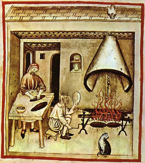 cucina-medievale-pane